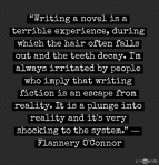 O'Connor on Writing