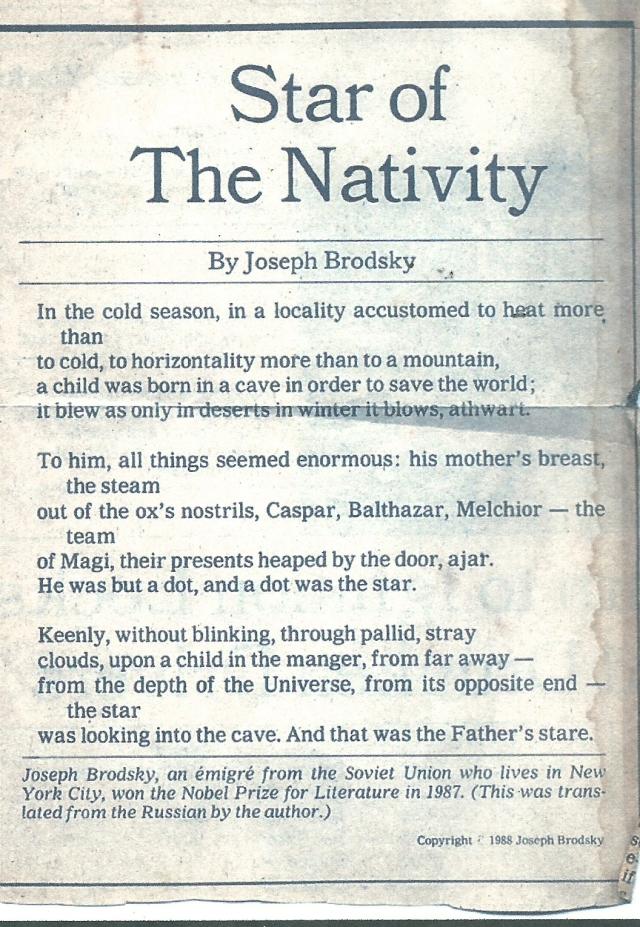 star of the nativity brodsky