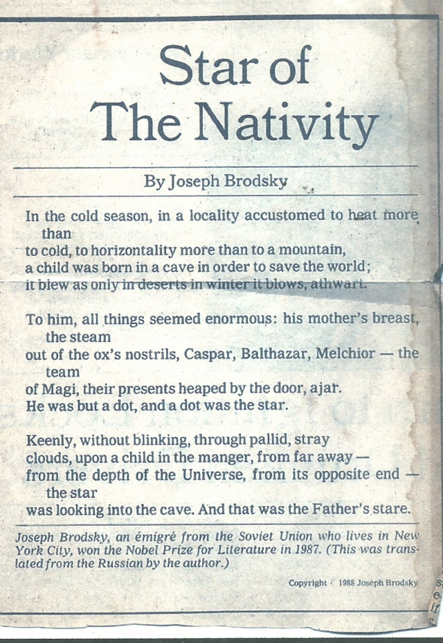 star of the nativity brodsky