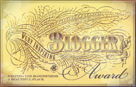 inspiring blogger logo